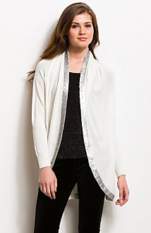 Embellished Cocoon Cardigan<br>Online Exclusive