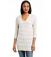 Stripe Tunic Sweater