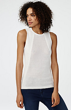 Multi-Stitch Sweater Tank