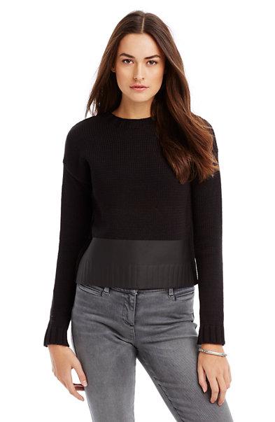 Print Block Sweater