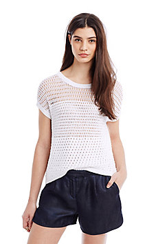 Crochet V-Back Top