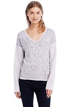 Camo Jacquard Merino Sweater