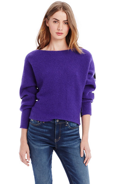 Boatneck Mohair Sweater