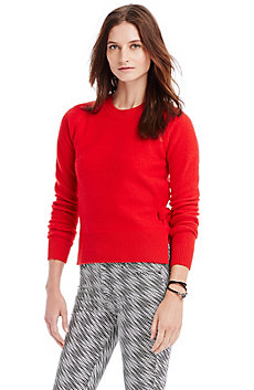 Sidetie Wool Sweater