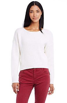 Back Zip Sweater