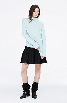 Merino & Cashmere Funnelneck Sweater