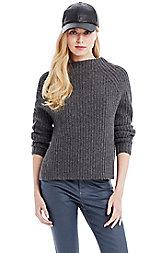 Lofty Mockneck Sweater