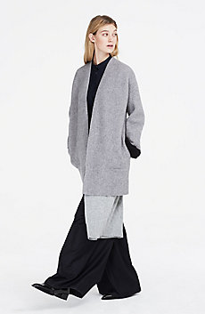 Boiled Wool Sweater Jacket