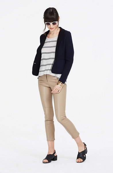 Boiled Wool Tailored Blazer