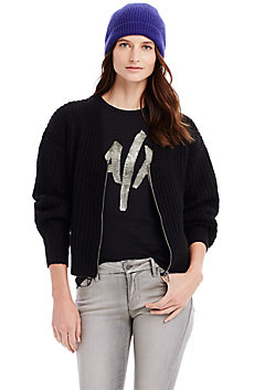 Lofty Zip Cardigan