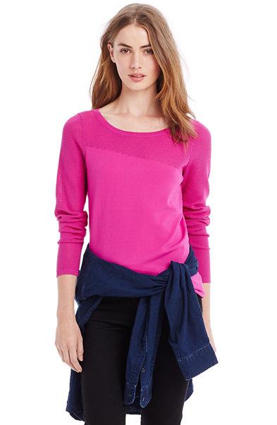 Stitch Block Sweater