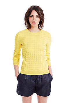 Textured 3D Pullover