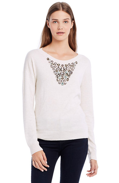 Necklace Sweater