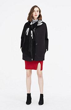 Bonded Cocoon Coat