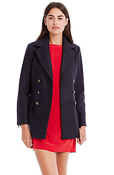 Wool Officer Peacoat