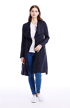 Asymmetrical Spring Coat
