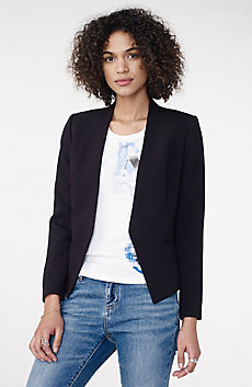 Clean Cropped Blazer