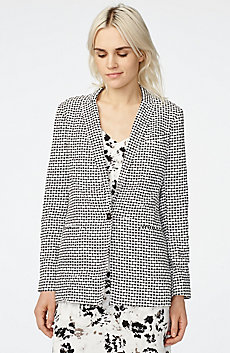 Bold Linen Blazer