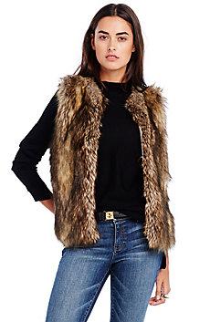 Faux Coyote Vest