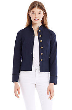 Cotton Officer Jacket