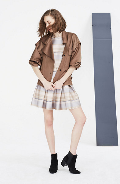 Belted Draped Jacket