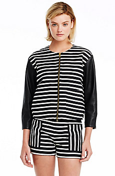 City Stripe Jacquard Jacket