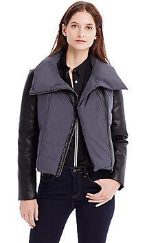 Puffer Moto Jacket