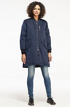 Longline Down Jacket