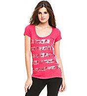 A|X Logo Stripe Pocket T-Shirt