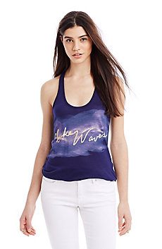 Make Waves Slub Knit Tank Top