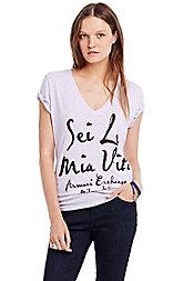 Sei La Mia Vita Logo Tee