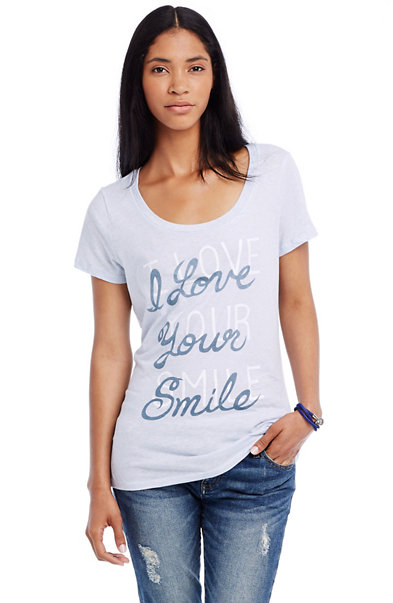I Love Your Smile Cotton Tee
