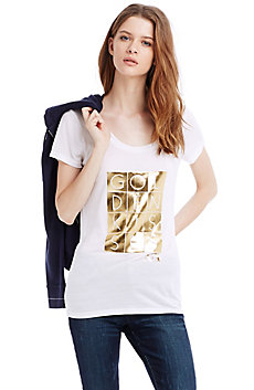 Golden Kisses Tee