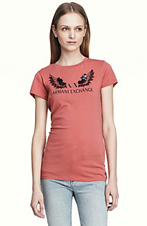 Embellished Wings Logo Tee<br>Online Exclusive