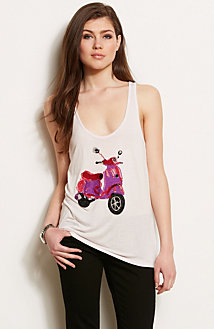 Sequin Moped Tank