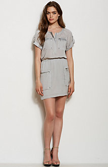 Washed Utility Dress