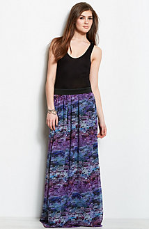 Twofer Maxi Dress<br>Online Exclusive