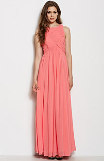 Rouched Top Maxi Dress<br>Online Exclusive