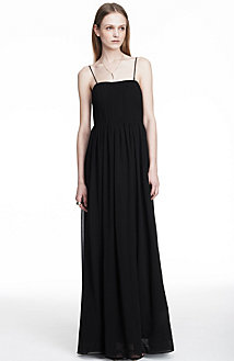 Pleated Goddess Dress<br> Online Exclusive