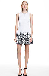 Graphic Hem Tulip Dress