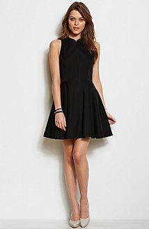 Ottoman Fit & Flare Dress