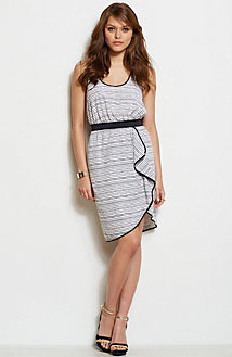 Cascade Printed Tank Dress