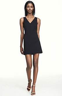 V-Neck Mini Dress<br>Online Exclusive