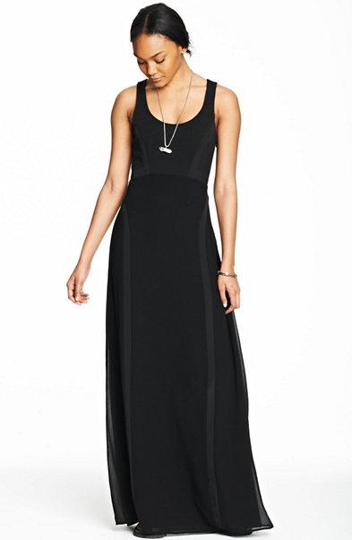Inset Maxi Dress