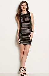 Sleeveless Mesh Dress