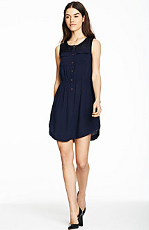Utility Shirttail Dress