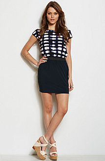 Twofer T-Shirt Dress