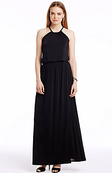 Rope Trim Maxi Dress