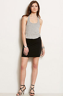 Racerback Twofer Dress