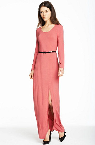 Front Slit Maxi Dress